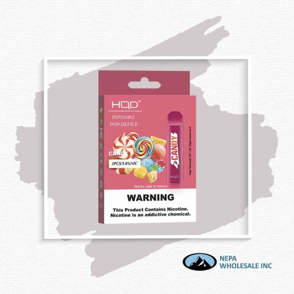 HQD V1 Disposable 5% Candy 3x10PK