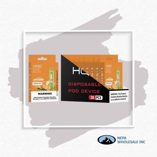 HQD V1 Disposable 5% Cantaloupe 3x10PK
