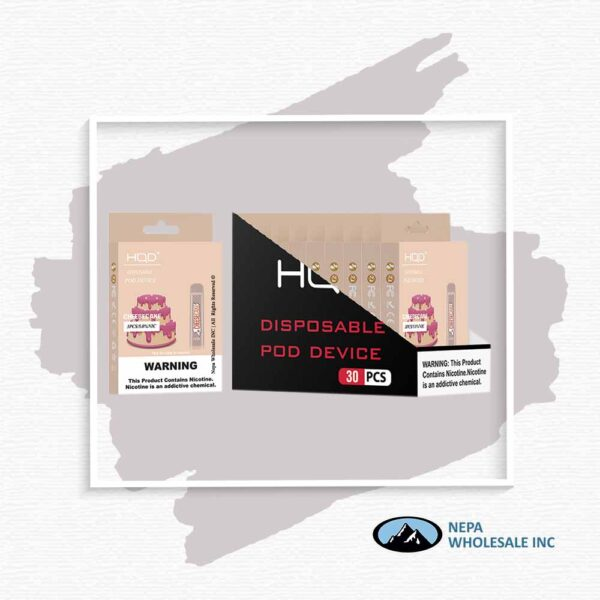 HQD V1 Disposable 5% Cheese Cake 3x10PK