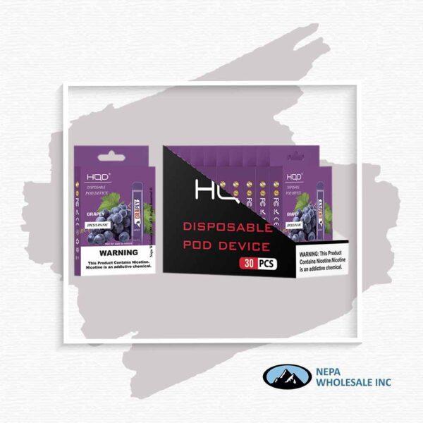 HQD V1 Disposable 5% Grape 3x10PK