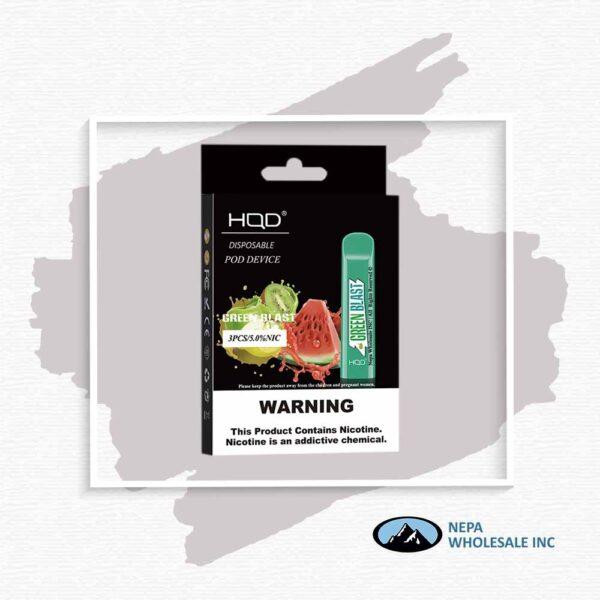 HQD V1 Disposable 5% Green Blast 3x10PK