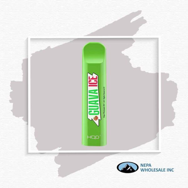 HQD V1 Disposable 5% Guava Ice 3x10PK