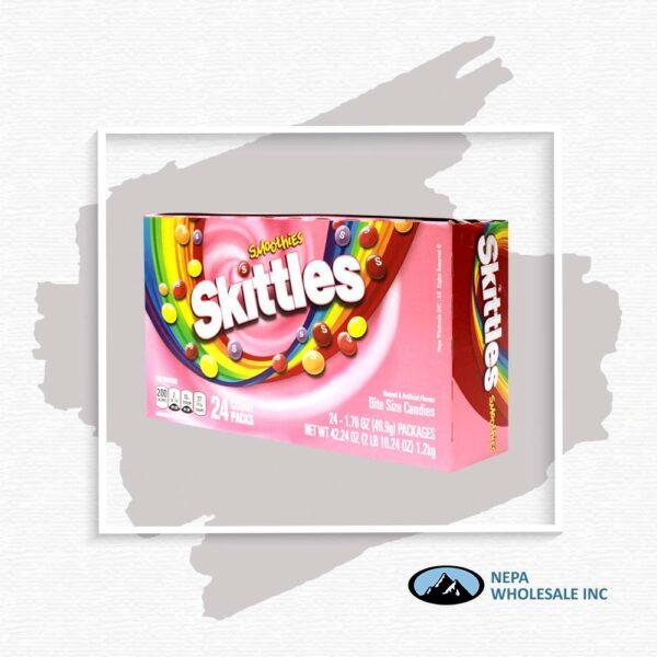 Skittles 24-1.76Oz Smoothies