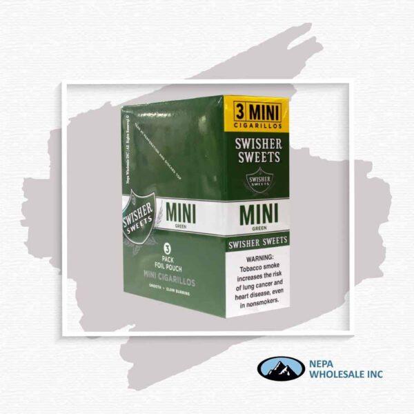 Swisher Sweet 3PK Mini Green Sweet