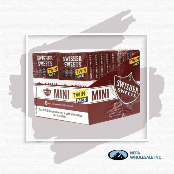 Swisher Sweet Mini 20-6 Packs Sweet Twin Pack