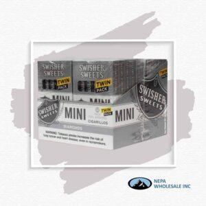 Swisher Sweet Mini 20-6 Packs Diamond Twin Pack