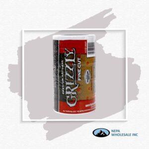 Grizzly 5-1.2Oz Fine Cut Natural