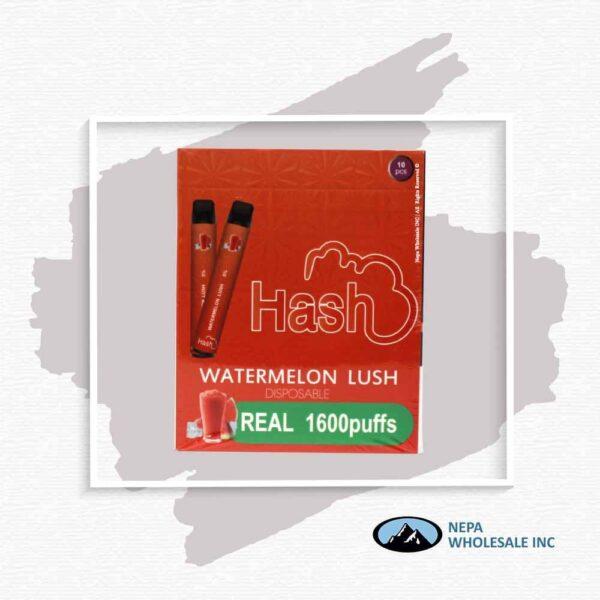 Hash Real 5% Watermelon Lush 1X10Pk Disposable
