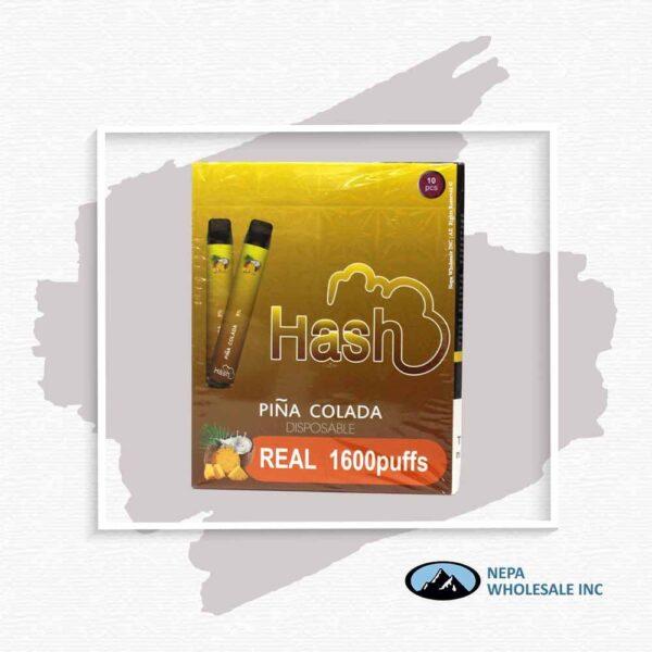 Hash Real 5% Pina Colada 1X10Pk Disposable