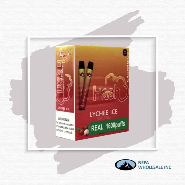 Hash Real 5% Lychee Ice 1X10Pk Disposable