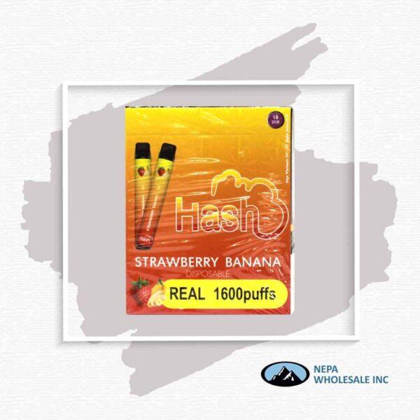 Hash Real 5% Strawberry Banana 1X10Pk Disposable