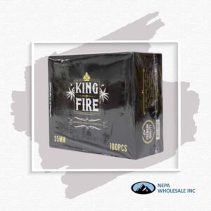 King Of Fire Charcoal 33Mm 10Pk