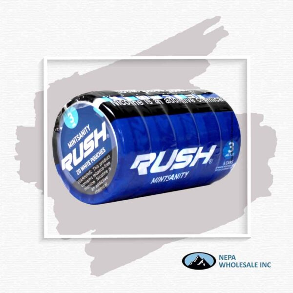 Rush 3Mg Mintsanity 1-5 Can