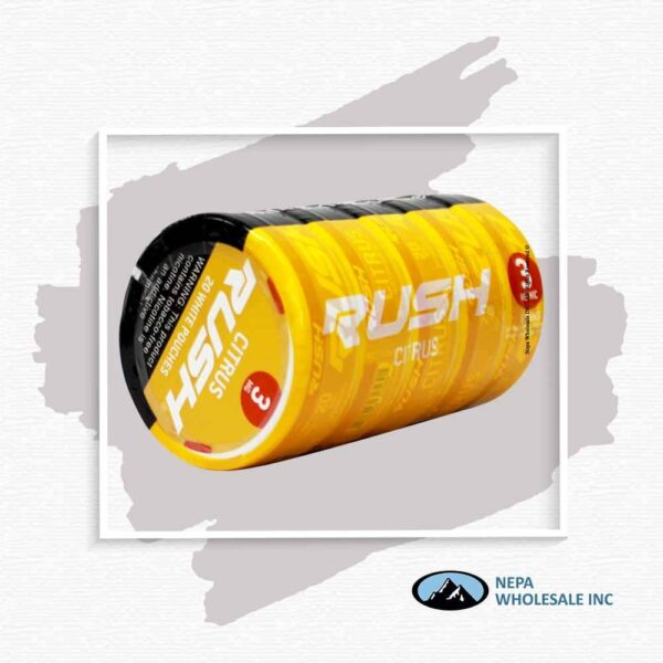 Rush 3Mg Citrus 1-5 Can