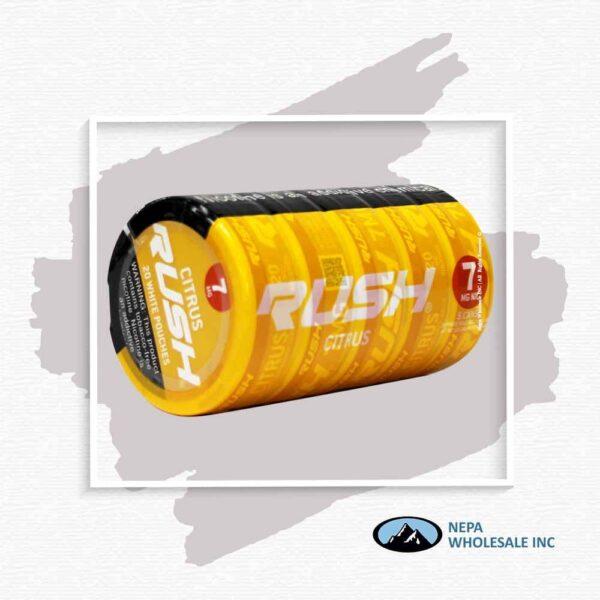Rush 7Mg Citrus 1-5 Can