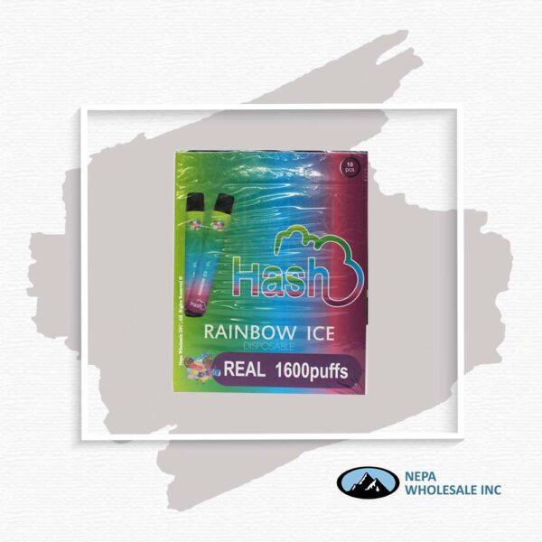 Hash Real 5% Rainbow Ice 1X10Pk Disposable