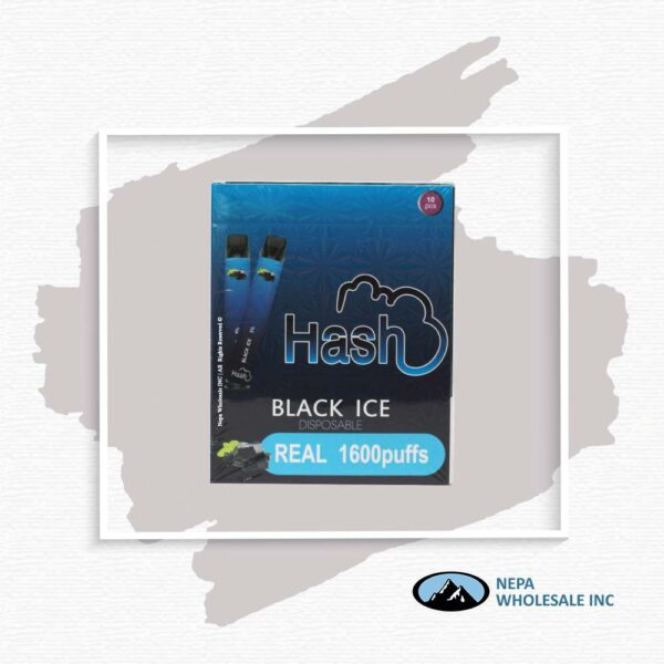 Hash Real 5% Black Ice 1X10Pk Disposable