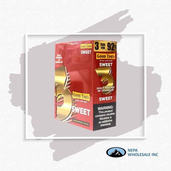 GT Sweet 3 For $0.92 15Pk