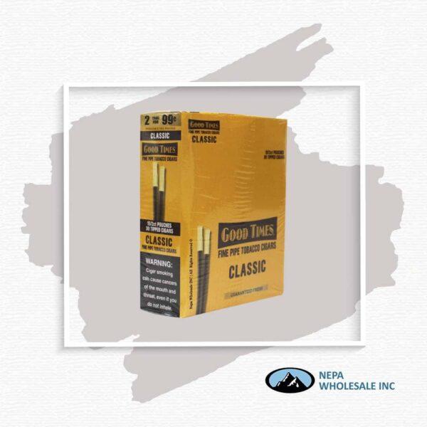 Gt Pipe Tob Cigar 2F99 Classic 15-2Ct