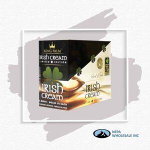 King Palm 5 Minis Irish Cream 15Ct