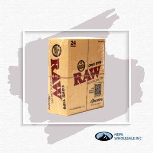 Raw Cone Tips Maestro 24 Per Box