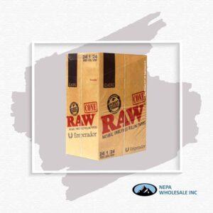 Raw Classic Cone Emperador 24 Packs Per Box