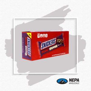 Snickers 24-1.20Oz Peanut Brownie