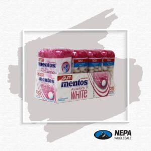 Mentos 4-50 Pc A/ W Bubble Fresh