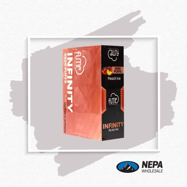 Fume Infinity 5% Peach Ice 5Pk Disposable