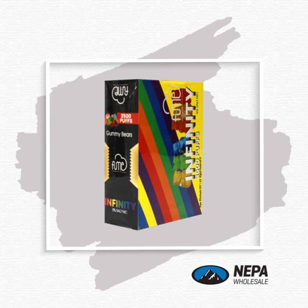 Fume Infinity 5% Gummy Bears 5Pk Disposable