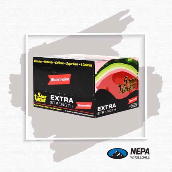 5-Hour 12-1.93 FL OZ. Watermelon Extra Strength